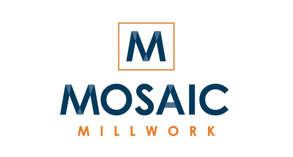 Mosaic Millwork Logo Design by Dynamite Design