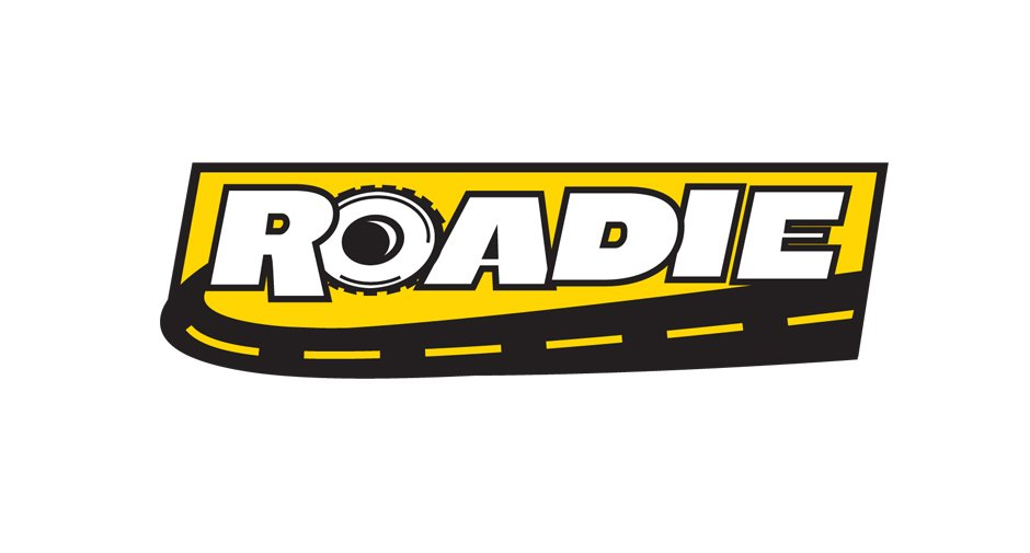 Roadie Logo Design and packaging by Dynamite Design