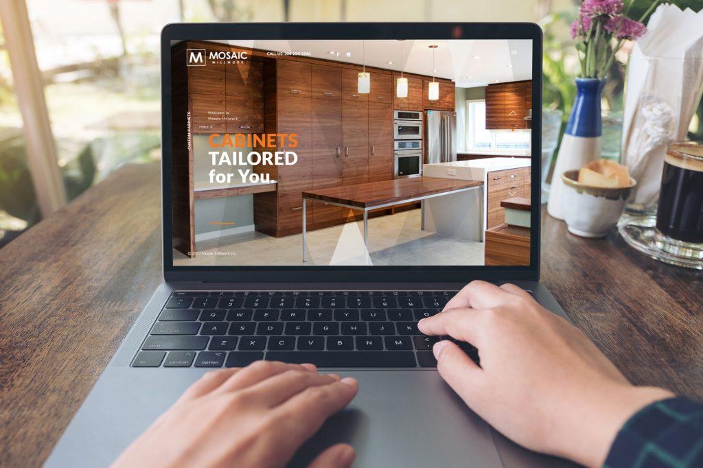 Mosaic Website development by dynamite design a web deveopment company