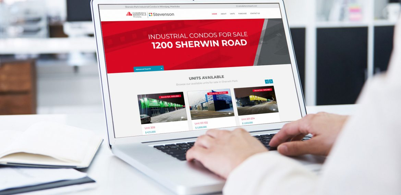 sherwinpark website design and development by dynamite design