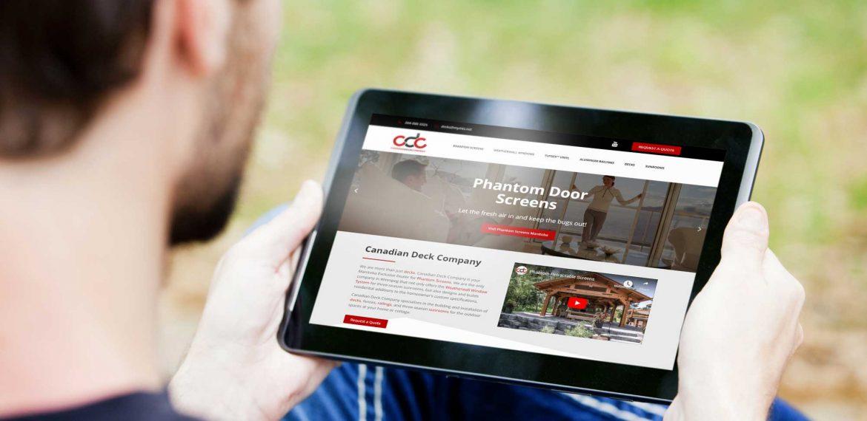 CDS tablet responsive website by dynamite design