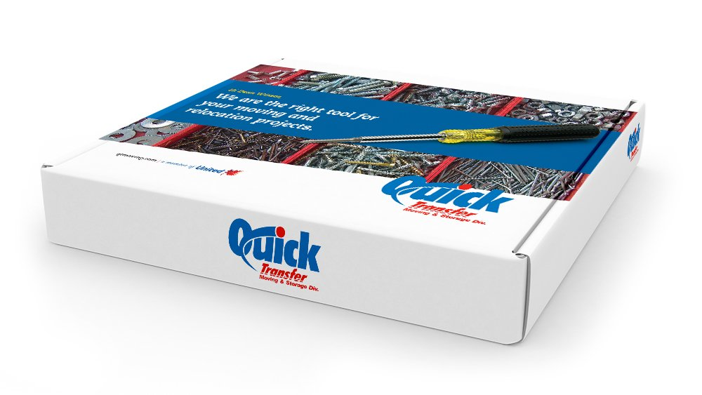 Quick transfer packaging design services by Dynamite Design