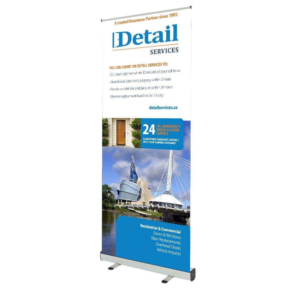 Details services banner design by Dynamite Design